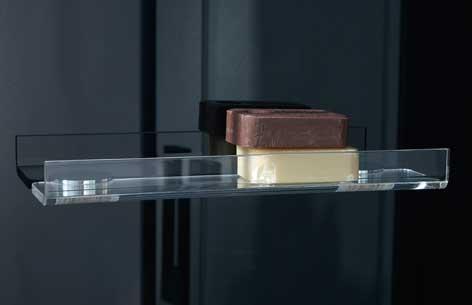 hylde til brusekabine Produktblad: Dampkabine Thor hylde til brusekabine
