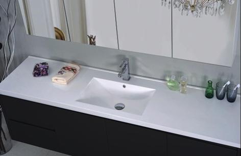 Tatiana bademøbel med spejl - bordplade